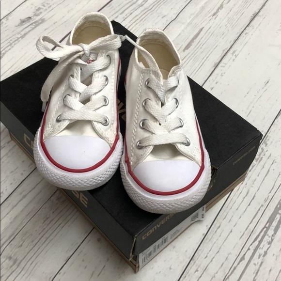 Converse Shoes   Infant Size 7 White